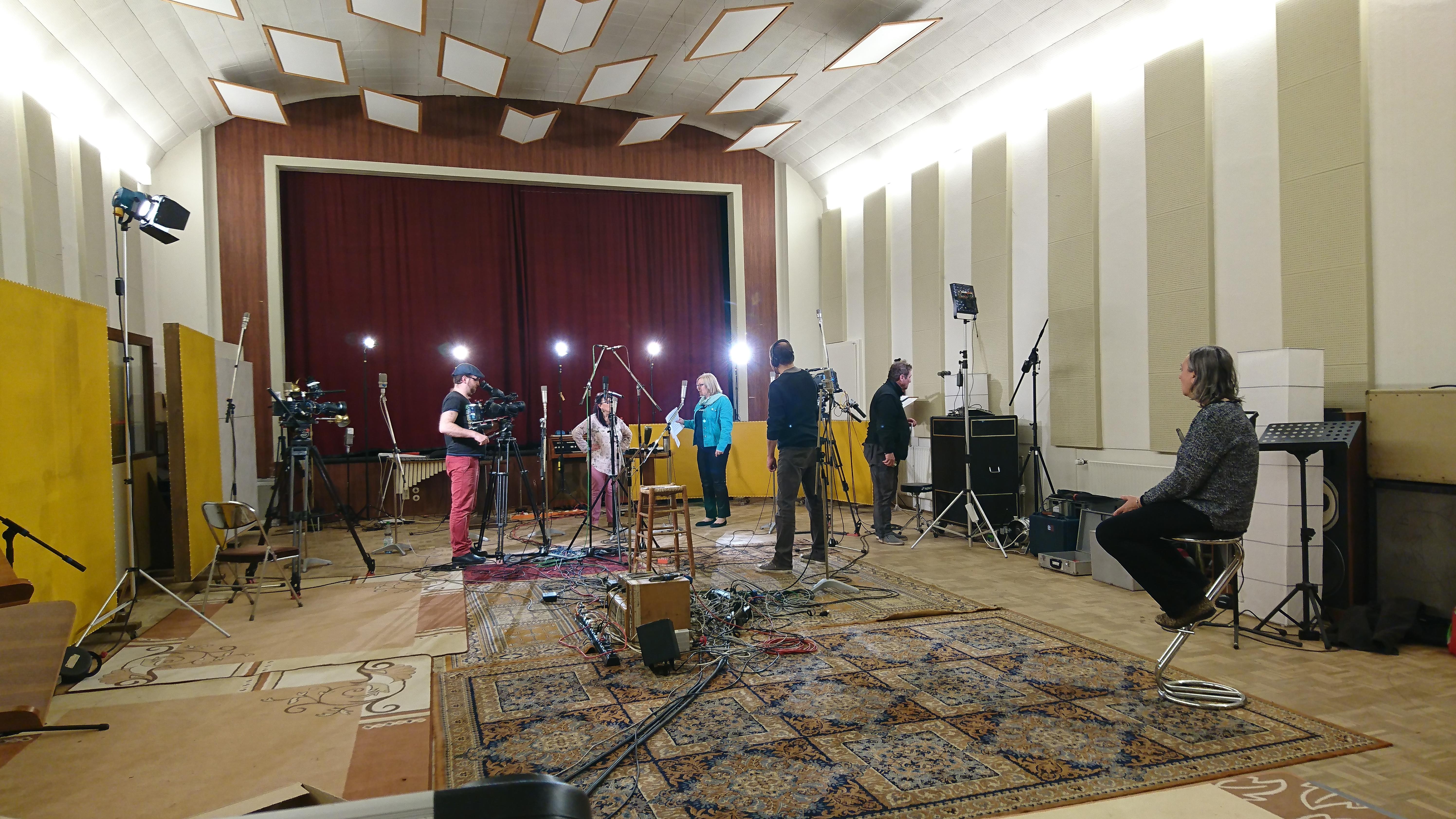 Video zur Studioaufnahme
